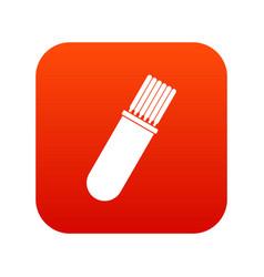 Welding rods icon digital red vector