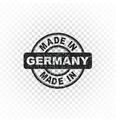 made in germany stamp on isolated background vector image