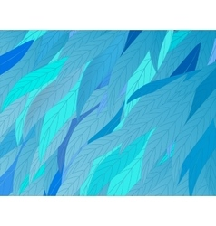 background-leaves vector image