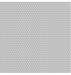 Black line geometric interlocking shapes pattern vector