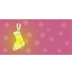 Christmas Socks vector image