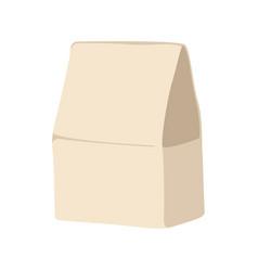 ecological paper bag flat vector image