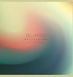 Elegant swirl blurred background vector