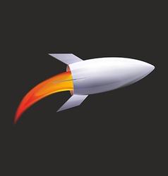 Future rocket vector