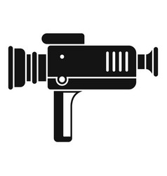 home cinema projector icon simple style vector image