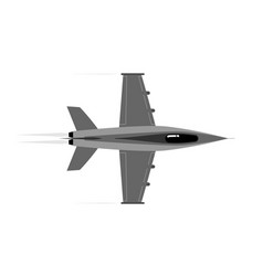 Military aircraft stormtrooper air defense vector