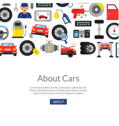 background car service vector image
