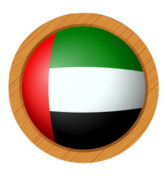 icon design for flag of arab emirates vector image