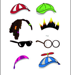 character accessory vector image