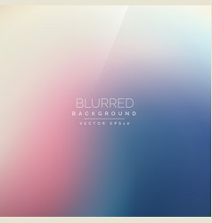 Colorful blurred background vector