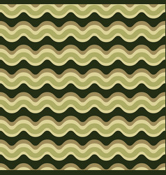 curved lines pattern seamless pattern vector image