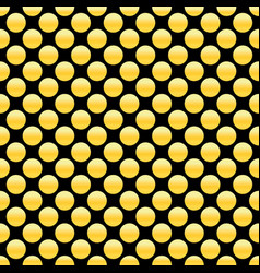 golden dots seamless pattern abstract geometric vector image