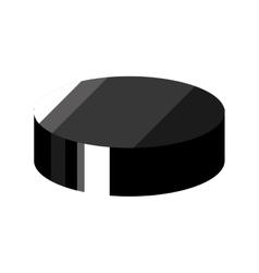 Hockey puck disk vector
