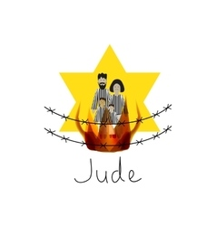 International holocaust remembrance day vector