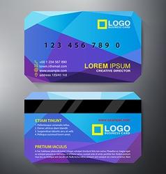 Modern Business Card vector