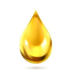 Oil drop icon vector