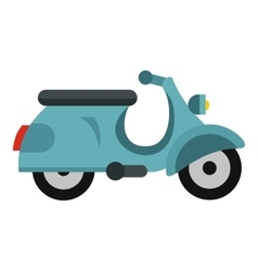 Scooted icon flat style vector