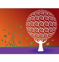Sphere-tree vector
