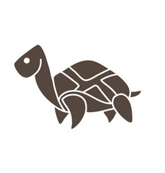 turtle cartoon graphic vector image