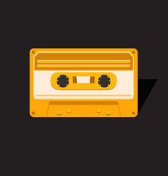 Vintage audio cassette vector