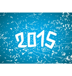 2015 year background vector image vector image