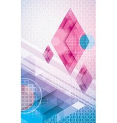 Abstract Diamonds vector image