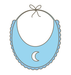 babib clothes accessory icon vector image