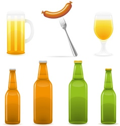 beer 10 vector image