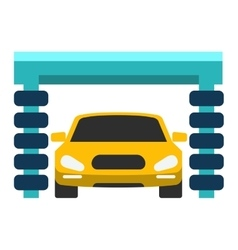 Car service repair icon vector