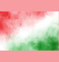 christmas and green watarcolor splash vector image