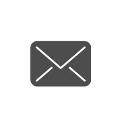 envelope modern icon vector image