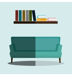 House furniture design vector image