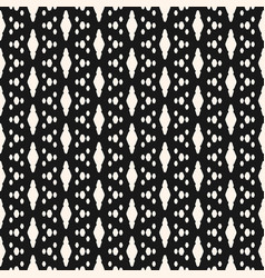 Minimalist seamless pattern with extended spots vector