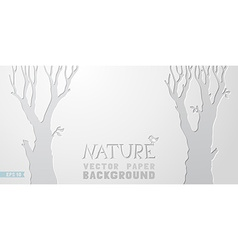 Nature paper background vector image