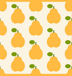 pear pattern vector image