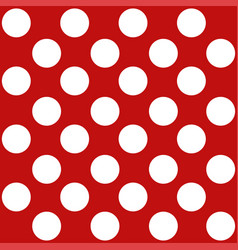 polka dot seamless retro pattern vector image