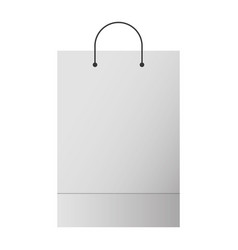 Shopping bag template sample business stationery Vector Image