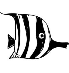 Striped Fish vector