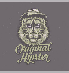 T-shirt or poster design vector