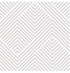 geometric seamless pattern white and gray texture vector image
