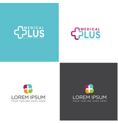 Medical logo concept vector