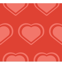 Pink Hearts Pattern vector