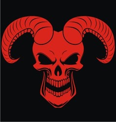 Red Demons vector image