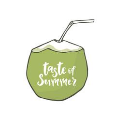 Taste of summer vector