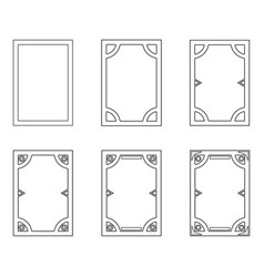 Template user interface for mobile vector