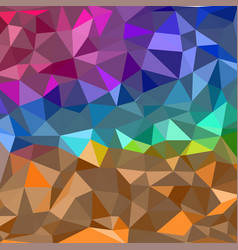 abstract colorful geometrical shapes polygonal vector image