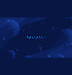 dark blue abstract background vector image