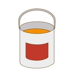 Paint bucket tool vector