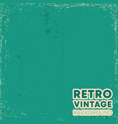 retro vintage design background with grunge vector image