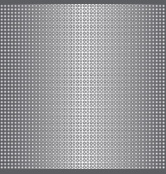 shiny metal circles seamless silvery dotted vector image